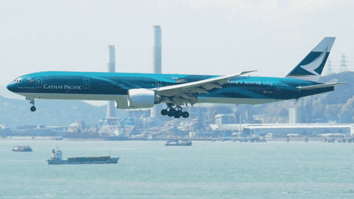 Cathay Pacific blockchain