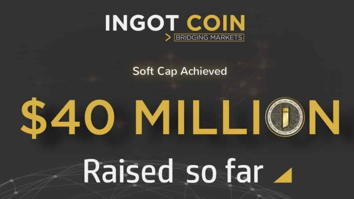 ingotcoin 40 millions