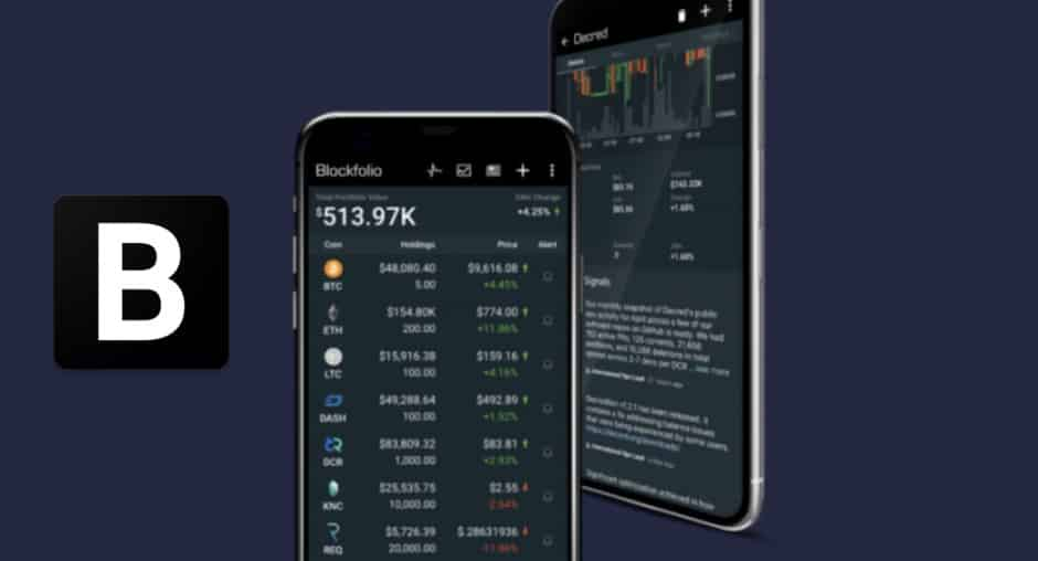 Blockfolio tracking