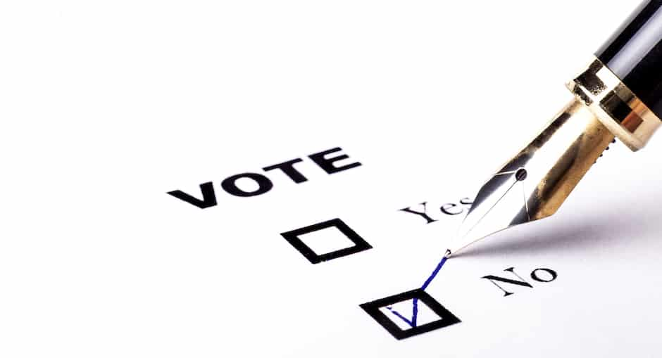 Voting blockchain