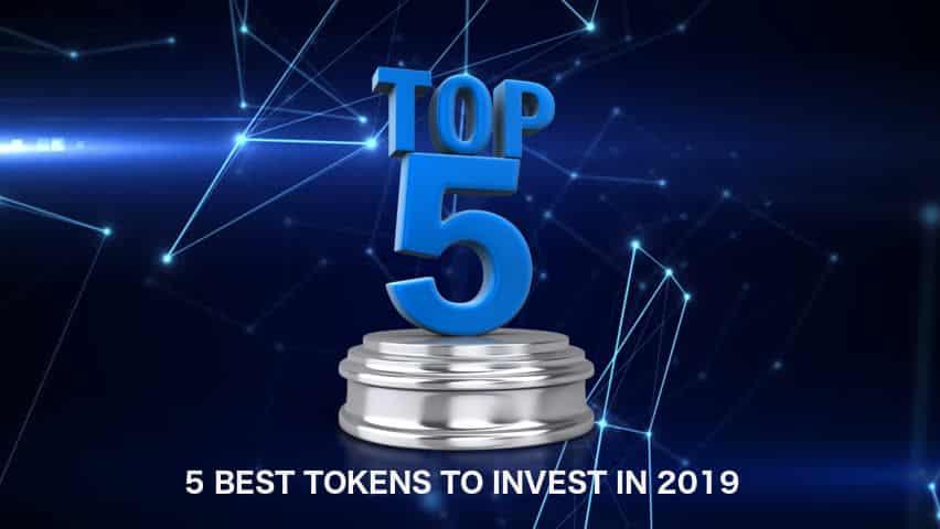 top 5 best tokens 2019