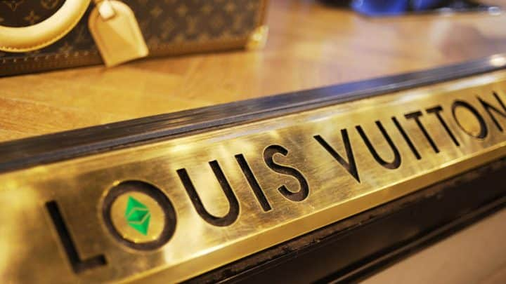 Louis Vuitton crypto