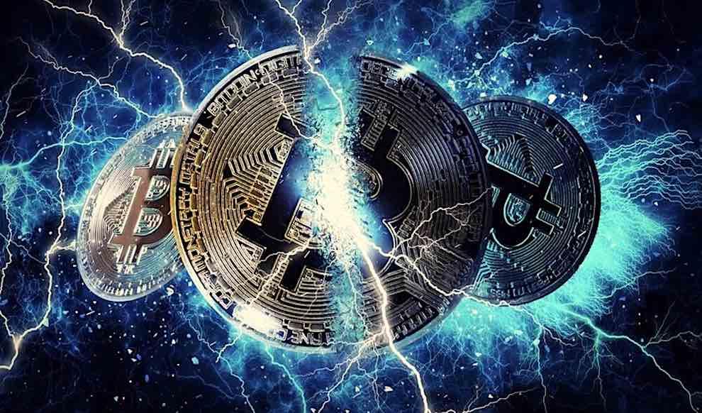 Bitcoin Lightening torch