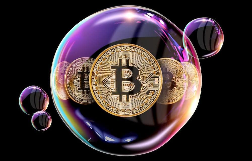 crypto bubble