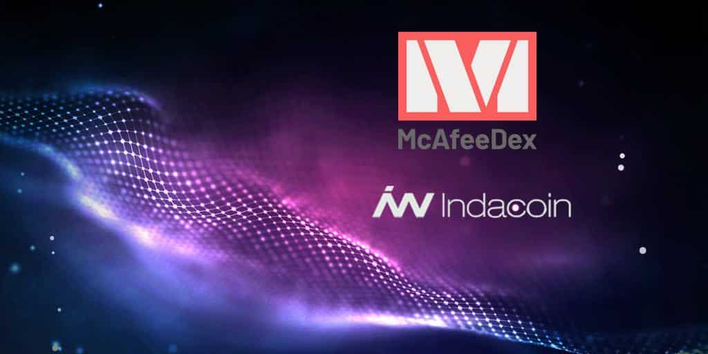 Mcafee dex indacoin