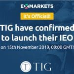 Sending Money to Friends Through Any Social Network Made Possible with TIG. IEO set to start on November 15th