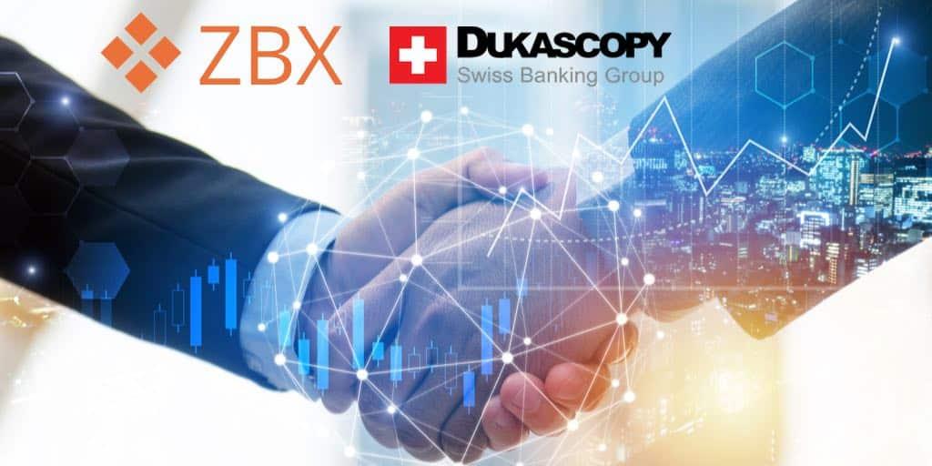 ZBX Duskascopy bank