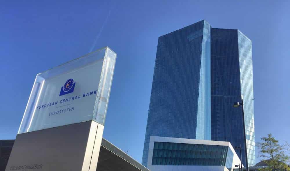 European Central Bank cryptocurrencies