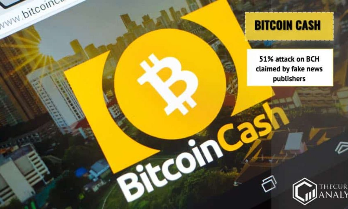Bitcoin Cash Bch Denies That It Is Easy To Make A 51 Attack On The Blockchain Network